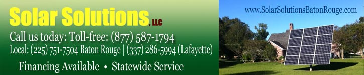 Solar Solutions LLC Baton Rouge